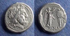 Ancient Coins - Roman Republic, Anonymous 211-208 BC, Victoriatus