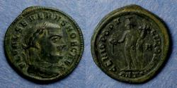 Ancient Coins - Roman Empire, Severus II (as Caesar) 305-6, Follis