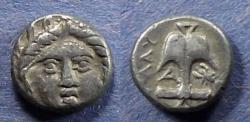 Ancient Coins - Thrace, Apollonia Pontika Circa 350 BC, Diobol