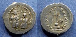 Ancient Coins - Byzantine Empire, Heraclius 610-641, Hexagram