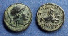 Ancient Coins - Kings of Thrace, Lysimachos 305-281 BC, AE14