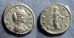 Ancient Coins - Roman Empire, Julia Domna 193-211, Denarius