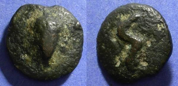 Ancient Coins - Roman Republic, Aes Grave 289-245, Uncia