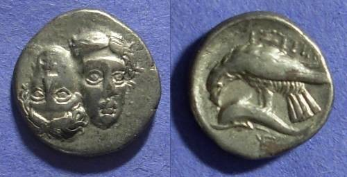 Ancient Coins - Istros Thrace Stater Circa 400-350 BC