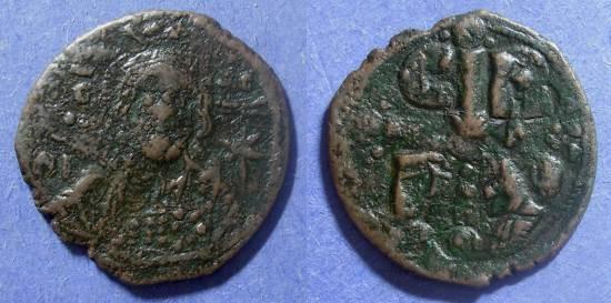 Ancient Coins - Byzantine Empire, Romanus IV 1068-71, Follis
