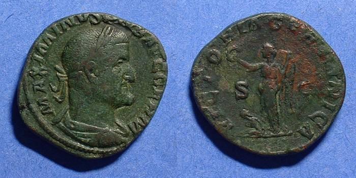Ancient Coins - Maximinus 235-8AD Sestetius