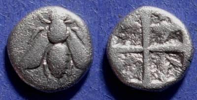 Ancient Coins - Ephesos, Ionia Circa 480 BC, Hemidrachm