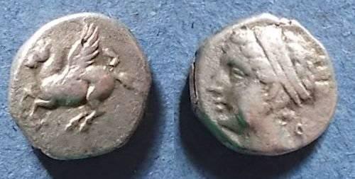 Ancient Coins - Corinth or colony Circa 300 BC, Drachm