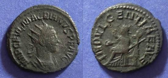 Ancient Coins - Roman Empire, Macrianus 260/1, Antoninianus