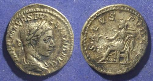 Ancient Coins - Roman Empire, Severus Alexander 222-235 AD, Denarius