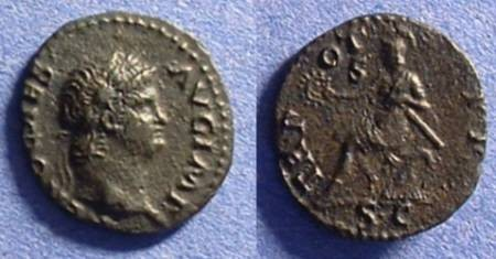 Ancient Coins - Nero - 54-68 AD  AE Semis