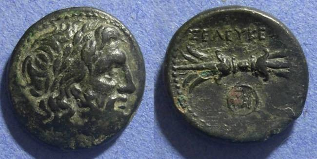 Ancient Coins - Syria, Seleukeia Circa 150 BC, AE22