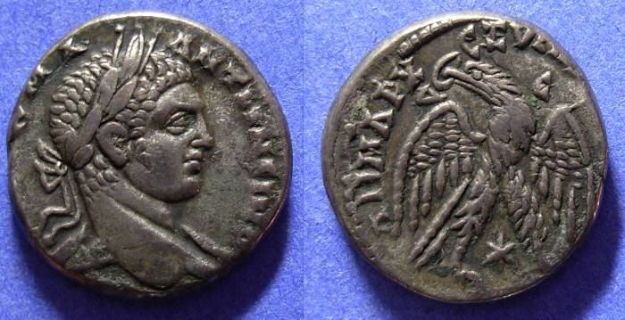 Ancient Coins - Elagabalus 218-222 - Tetradrachm of Antioch