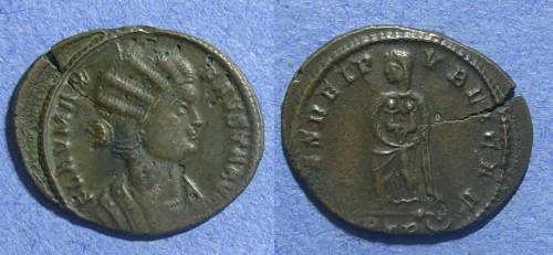Ancient Coins - Roman Empire, Fausta 324-6, AE3