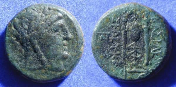 Ancient Coins - Seleucid Kingdom - Seleucus II 246-226 BC - AE18