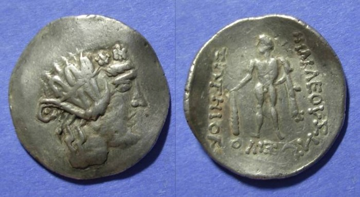 Ancient Coins - Danube Celts, Imitative of Thasos Circa 100 BC, Tetradrachm