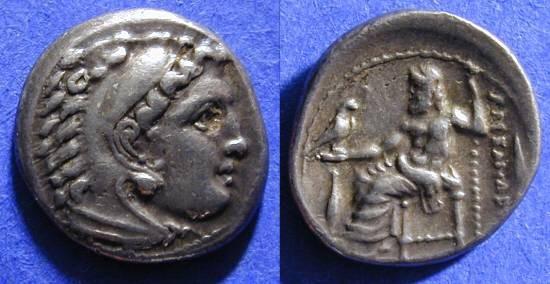 Ancient Coins - Macedonian Kingdom - Alexander III (the Great) Drachm
