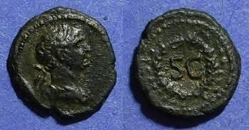 Ancient Coins - Roman Empire, Trajan 98-117 AD, Uncia