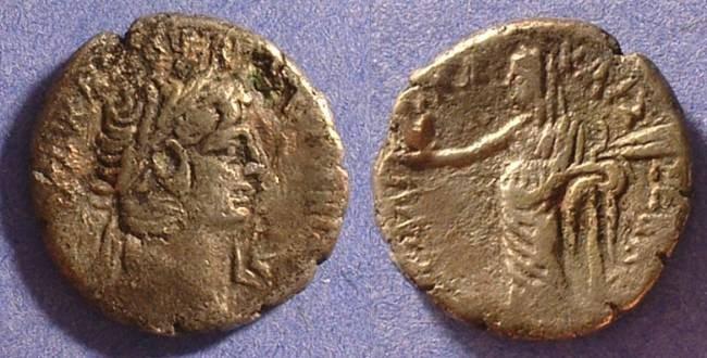 Ancient Coins - Claudius 41-54AD Tetradrachm w/ Messalina reverse