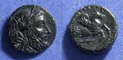 Ancient Coins - Iolla, Mysia Circa 350 BC, AE11