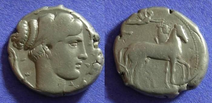 Ancient Coins - Syracuse Sicily – Tetradrachm circa 430-420 BC