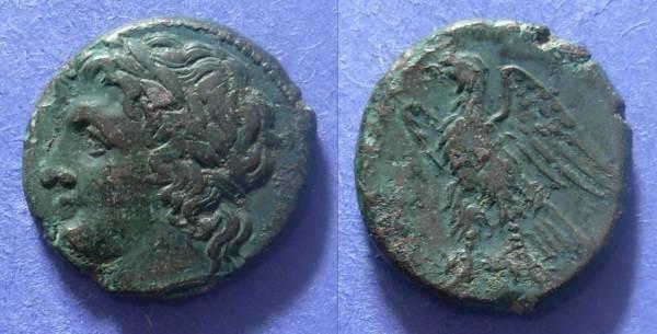 Ancient Coins - Syracuse Sicily, Hiketas 288-78, AE21