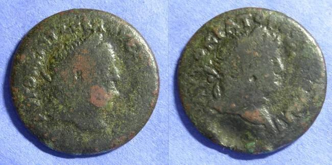 Ancient Coins - Roman Egypt – Vespasian & Titus 69-79 - Drachm