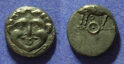 Ancient Coins - Parion Mysia Circa 325 BC Hemidrachm