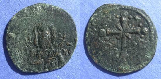 Ancient Coins - Byzantine Empire, Anonymous (Nicephorus III) 1078-81, Follis