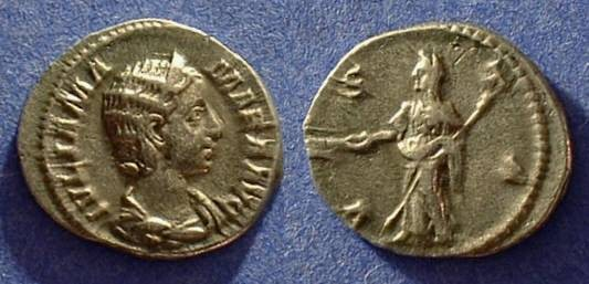 Ancient Coins - Julia Mamaea 222-235 (mother of Severus Alexander) Denarius