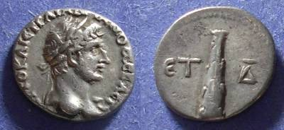 Ancient Coins - Caesarea Cappadocia, Hadrian 117-138, Hemidrachm