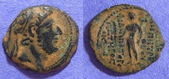 Ancient Coins - Seleucid Kingdom - Demetrios III 95-88 BC AE19