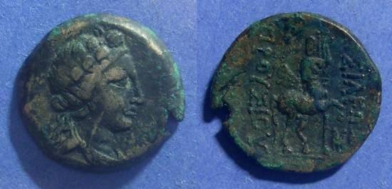 Ancient Coins - Bithynian Kingdom, Prusias II 182-149 BC, AE21