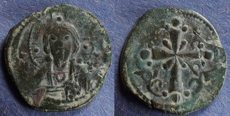 Ancient Coins - Byzantine Empire, Anonymous Class I (Nicephorus III) 1078-81, Follis