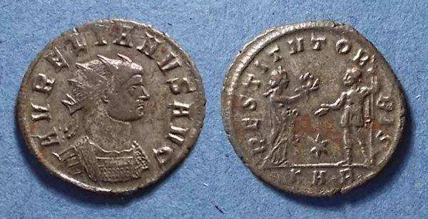 Ancient Coins - Roman Empire, Aurelian 270-5, Antoninianus