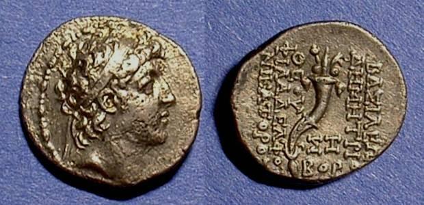 Ancient Coins - Seleucid Kingdom - Demetrios II first reign 145-140 BC Drachm