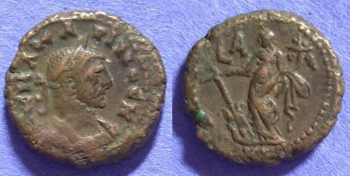 Ancient Coins - Roman Egypt - Carinus 283-5 - Tetradrachm