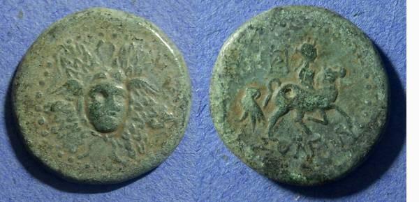 Ancient Coins - Cilicia, Soloi 100-30 BC, AE25