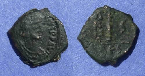 Ancient Coins - Byzantine Empire, Justin II 565-578, Decanummium
