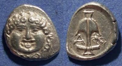 Ancient Coins - Thrace, Apollonia Pontica Circa 400 BC, Drachm