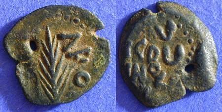 Ancient Coins - Judaea Porcius Festus procurator 59-62 AD