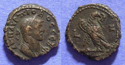 Ancient Coins - Roman Egypt - Probus 276-282 Tetradrachm