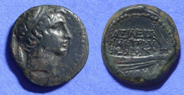 Ancient Coins - Seleucid kingdom - Demetrios I 162-150 BC - AE20 of Tyre