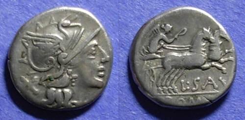 Ancient Coins - Roman Republic, L Saufeius 152 BC, Denarius