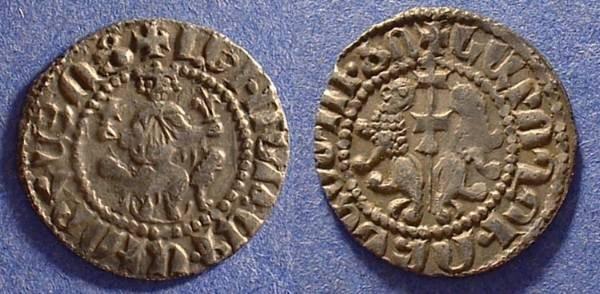 Ancient Coins - Armenia - Levon 1198-1219 - AR Tram