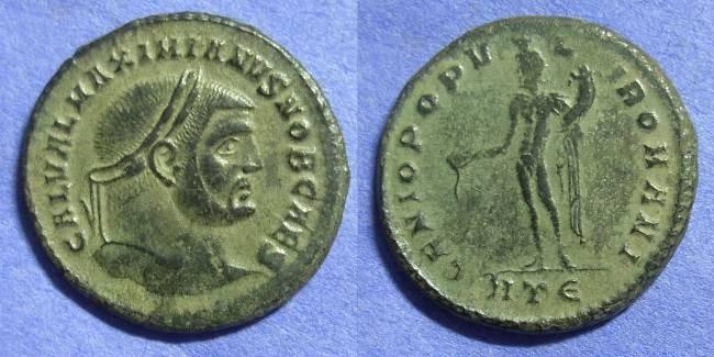 Ancient Coins - Galerius (as Caesar) 293-305 Follis