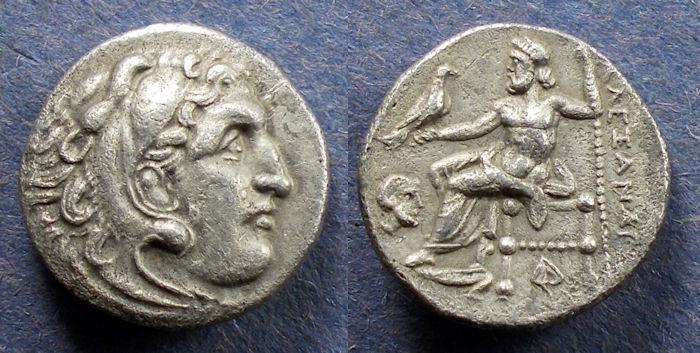 Ancient Coins - Kingdom of Macedonia, Alexander III 336-323 BC, Drachm