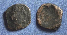 Ancient Coins - Phoenicia?, Brockage Circa 100 AD, AE12