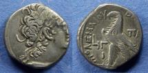 Ancient Coins - Egypt, Ptolemy X with Cleopatra III 106-88 BC, Tetradrachm