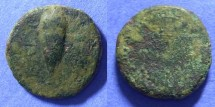 Ancient Coins - Ostur Spain - Circa 150 BC AE22